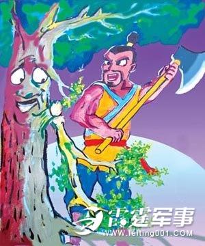 吴刚伐桂中吴刚是一个怎样的人_吴刚伐桂的故事介绍,吴刚伐桂有几种神话传说?