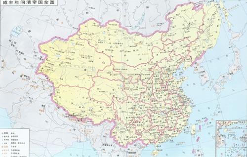 时期的中国版图 秦朝时中国版图 中国古代各个时期版图_中-中国各