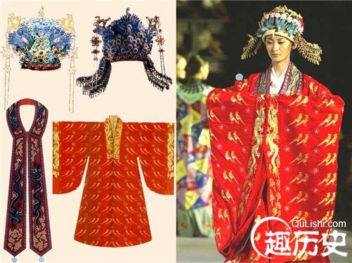明朝宫廷服饰 明代后宫皇后嫔妃服饰区别及种类 高清图片