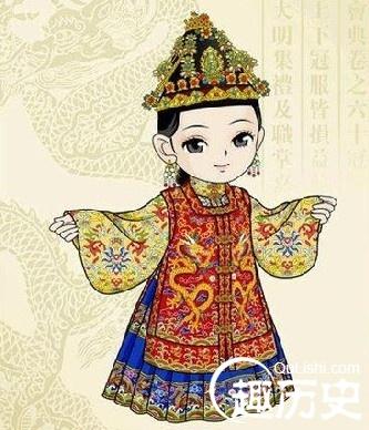 明朝宫廷服饰 明代后宫皇后嫔妃服饰区别及种类