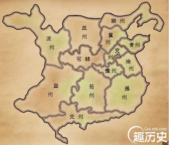 汉朝地图——中国古代汉朝地图
