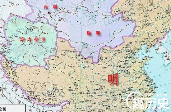 明朝地图 中国古代明朝地图
