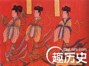 魏晋南北朝贵族服饰 魏晋贵族男女都穿什么衣服图片