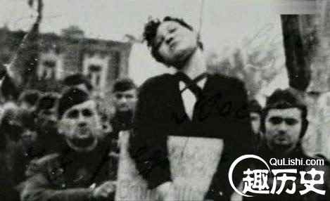 苏联红军在德国_二战德军凌辱苏联女红军 绞死对方取乐