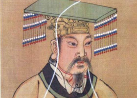 商朝皇帝服饰图片