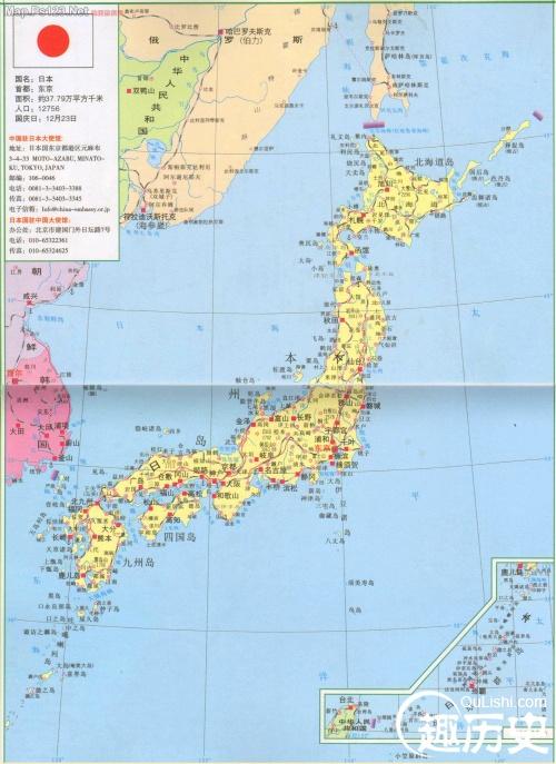 世界地图琉球群岛