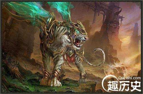 【古代四大神兽是什么】古代四大神兽之一白虎的传说,神兽白虎代表什么