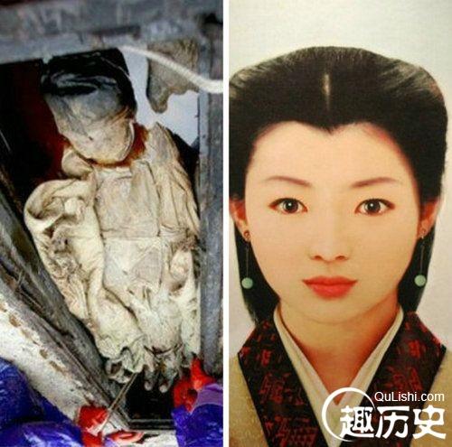 中国十大千年古尸复原照图片