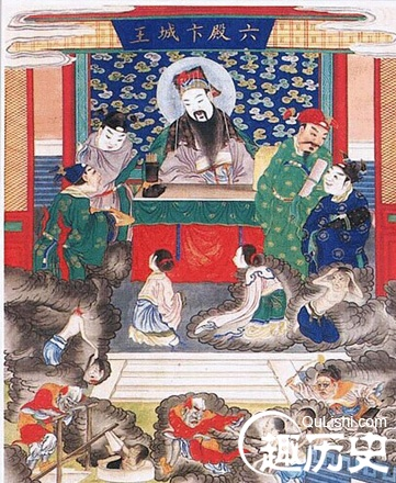 六殿阎王卞城王:揭秘中国神话传说中的十殿阎罗