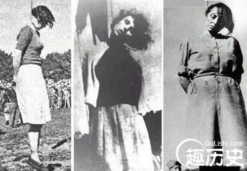 变态的魔鬼纳粹美女看守长 女囚胸大就得处死图片