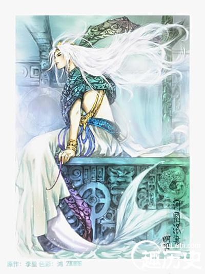 河伯的新娘简介|河伯简介,关于河伯的神话传说