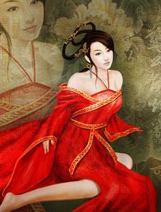 美女 夏姬/汉桓帝好色,除三宫外,博采宫女六千余人。对此,皇后不满,后受许...