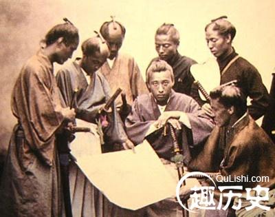 古代日本男子发型为什么那么怪?图片