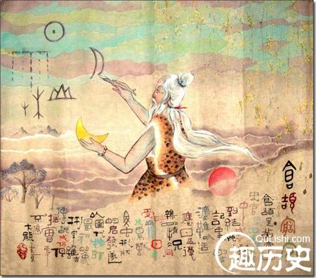 仓颉造字的故事50字_仓颉造字的故事,上古时期关于仓颉造字的传说