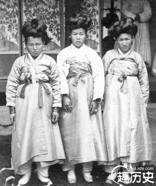 古代朝鲜宫女的私密生活:古代朝鲜女子长这样!