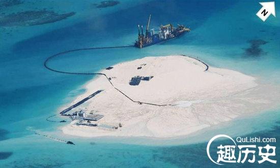 菲称中国在南海五岛礁填海扩岛 驻军全副武装