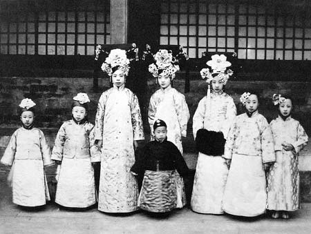 晚清最漂亮的美女格格们:清朝皇室美女样貌曝光