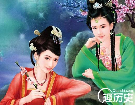 盘点帝王宠妃中10对绝色姐妹花:史上十大花心