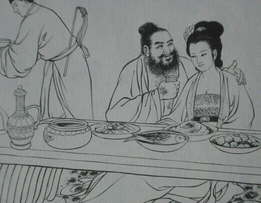 古代宫女手绘图片大全