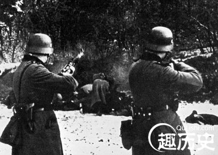 图揭二战中纳粹德军暴行 肆意屠杀苏军战俘