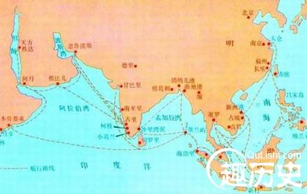 马六甲海峡在世界地图