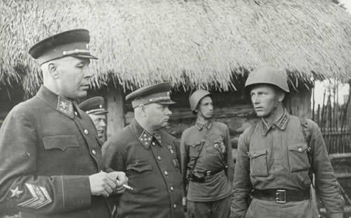物:苏联元帅铁木辛哥