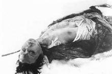 苏联女英雄卓娅死后惨被德军割乳:遭疯狂凌辱!