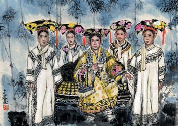 """皇宫里的""""官二代"""":慈禧太后如何罩着娘家人?"""