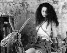 骑木驴刑:太平军女犯这样被清军当众凌迟处死?