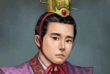 东汉时,灵帝刘宏(157年-189年),章帝刘�@的玄孙.由于