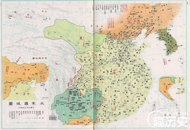 大唐其实不大,历史中唐朝宋朝疆域相差有多少?