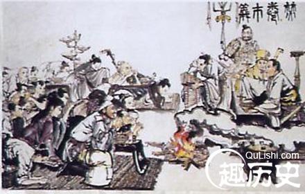 读 中国历史上春秋战国时期的门客竟不如妓女图片