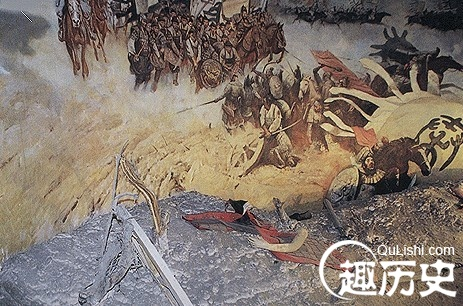淝水之战衍生出的四个成语:风声鹤唳,草木皆兵