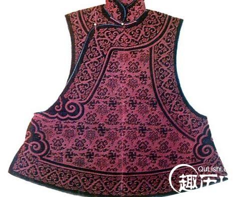 清朝服饰之:清代的马甲