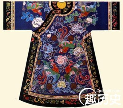 清朝服饰之:清代皇后凤袍