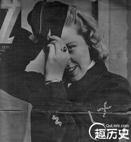 """真实的纳粹女兵:被军人蔑称为""""军官的床垫""""!"""