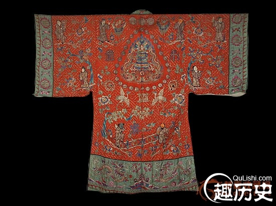清朝服饰之:清初道袍
