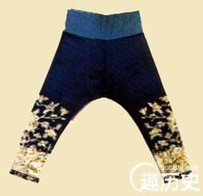 清朝服饰之:清代妇女长裤