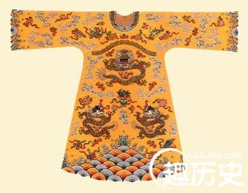 清朝服饰之:太平天国忠王龙袍