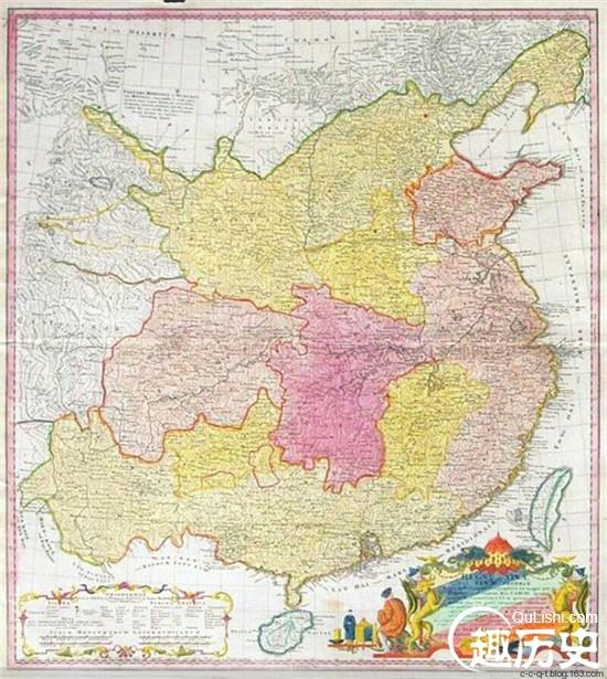 古代欧洲人绘制的中国地图是什么样?
