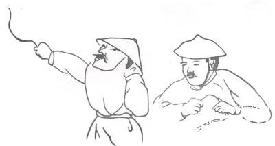 汉族服饰简笔画图片