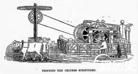 最早车床结构图