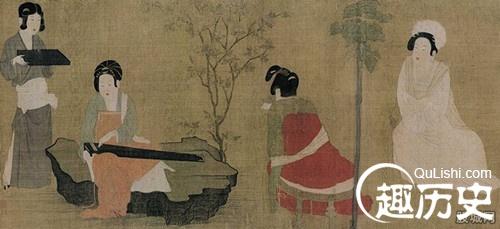 唐代女子服饰花纹