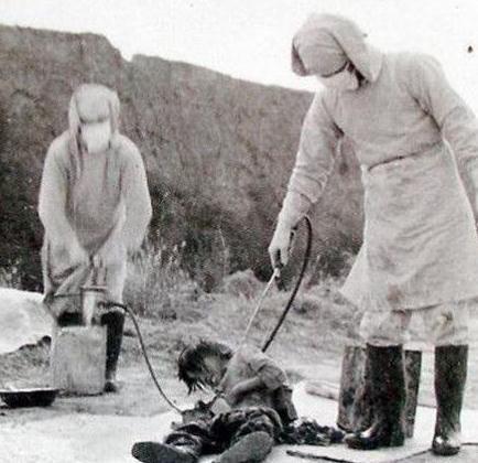 侵华日军人体实验_日军731部队人体实验恐怖照 恐怖实验不堪入目