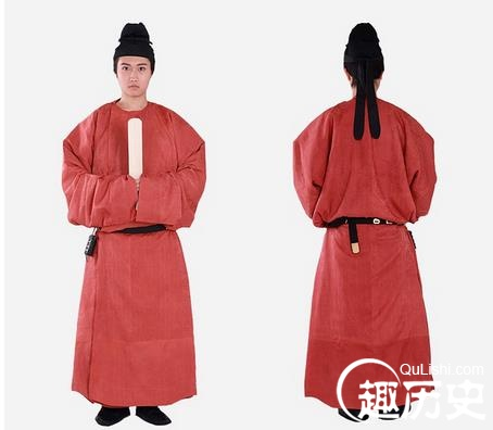 唐朝服饰:唐朝男子服饰
