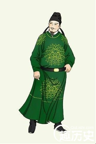 唐朝服饰:唐代官吏常服袍衫