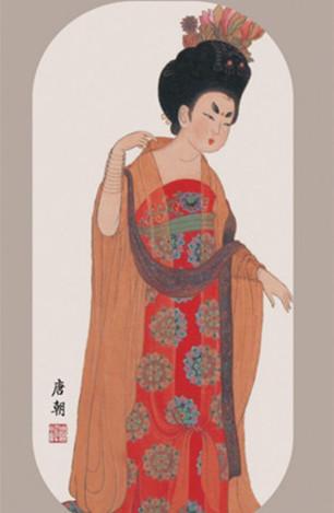 隋唐五代服饰介绍 唐朝服饰 唐朝女子服饰 趣历史图片