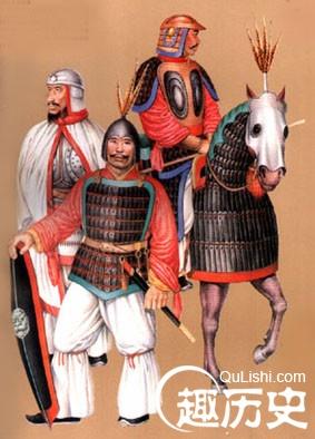 魏晋南北朝服饰 魏晋南北朝时期的戎服图片