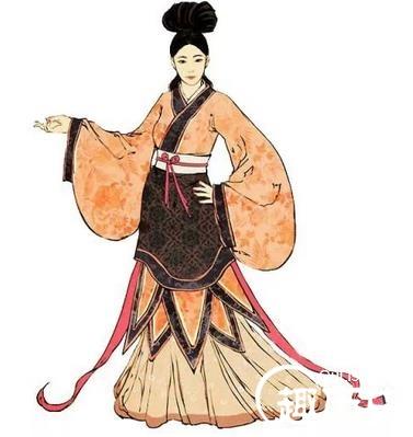 魏晋女子服饰:魏晋时期汉族女子的衫,襦,裙