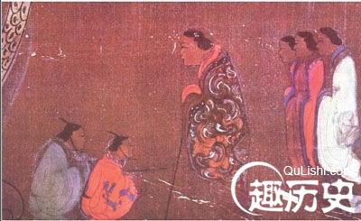 汉朝女子服饰:汉代妇女曲裾